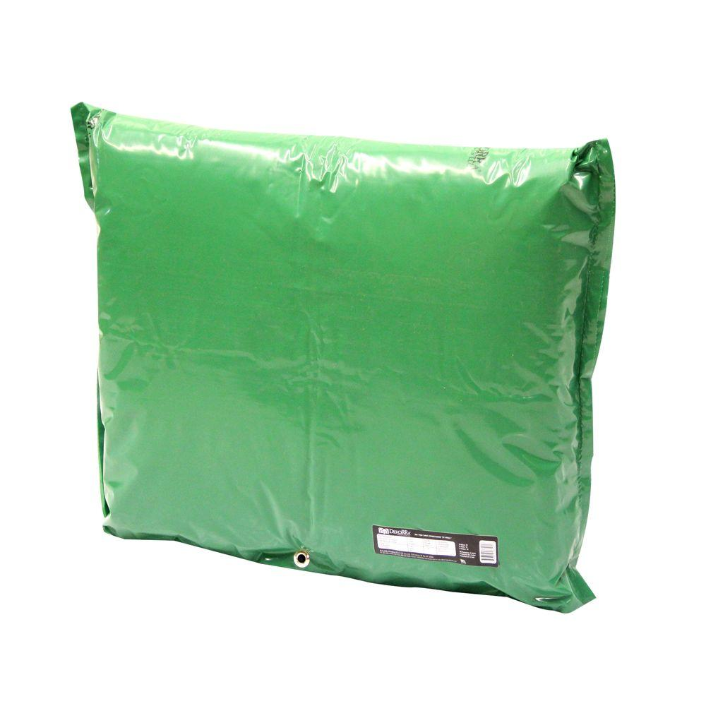 34 in. L x 24 in. H Medium Fiberglass Encapsulated Green
