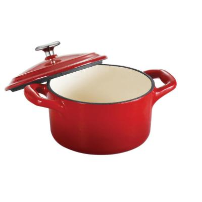 Gourmet 10.5 oz. Enamel Cast Iron Mini Cocotte