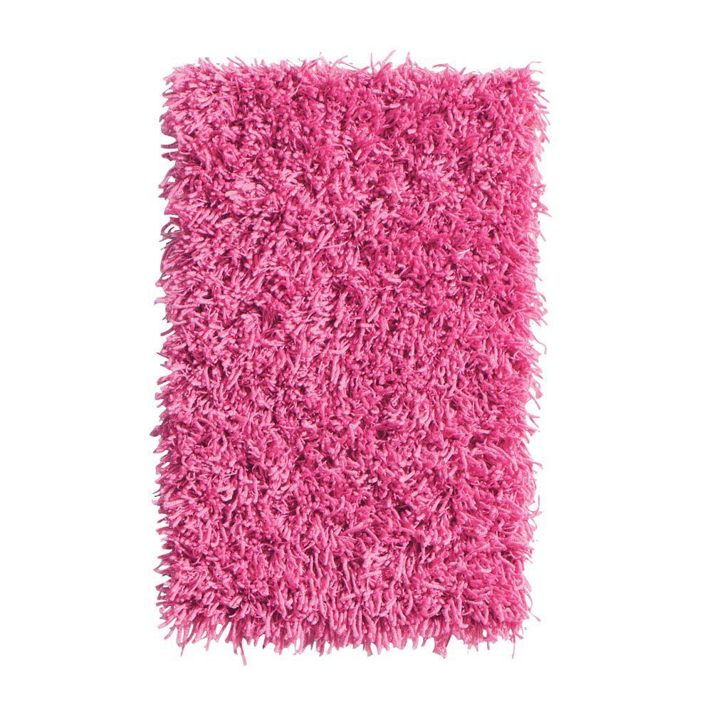 Ultimate Shag Hot Pink 6 Ft. X 9 Ft. Area Rug