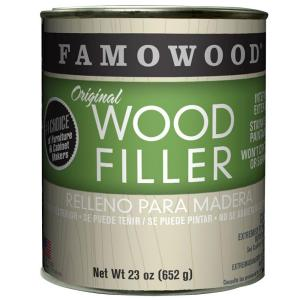 FAMOWOOD 1-pt. Natural/Tupelo Original Wood Filler (12-Pack) by FAMOWOOD