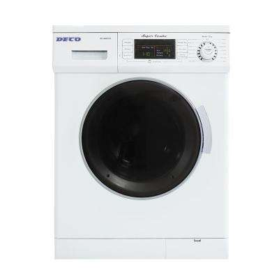 1.6 cu. ft. Compact Combo Washer and Electric Dryer with Optional Condensing/Venting and Sensor Dry in White