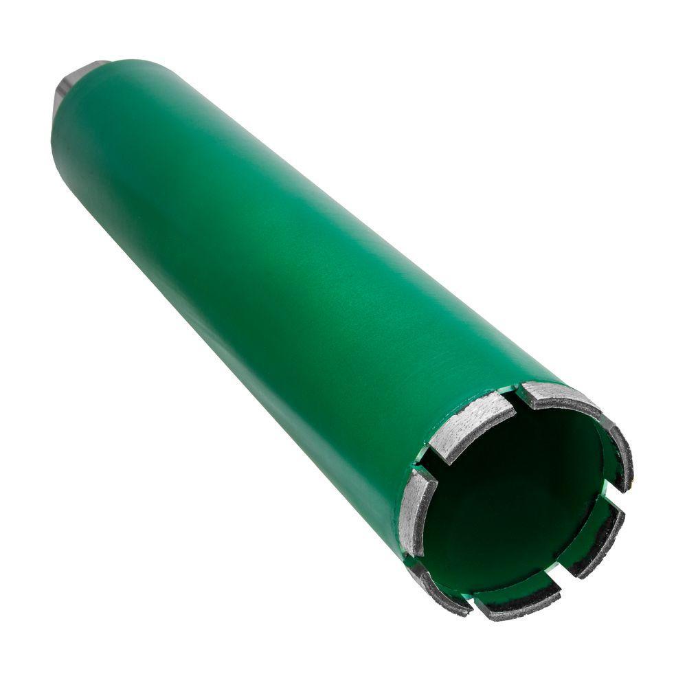 3 in. Diamond Core Drill Bit with V-Tip for Concrete Drilling