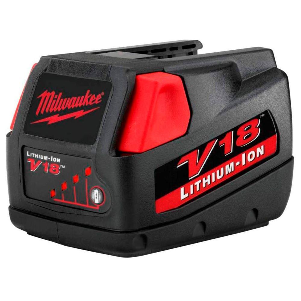 V18 18-Volt Lithium-Ion Slide-Style Battery Pack 3.0Ah for Select Milwaukee V18 Tools