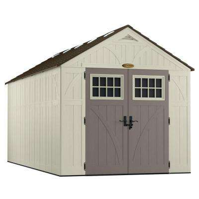 Tremont 16 ft. 3-1/4 in. x 8 ft. 4-1/2 in. Resin Storage Shed