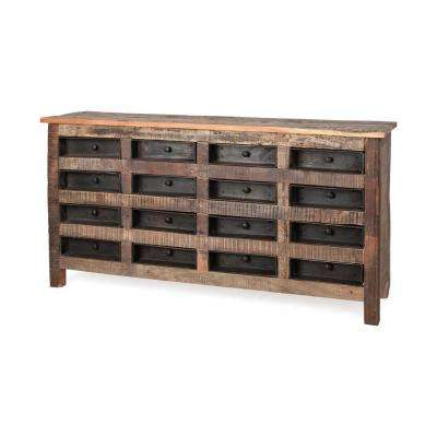 Wilton I Brown Sideboard with drawers