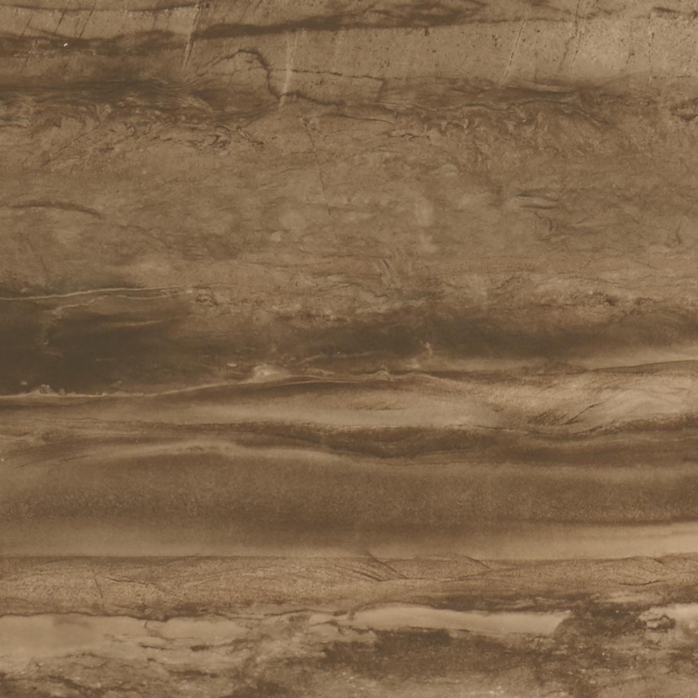 Sanford Deep Brown Matte 6 in. x 12 in. Glazed Ceramic Cove Base Trim Tile