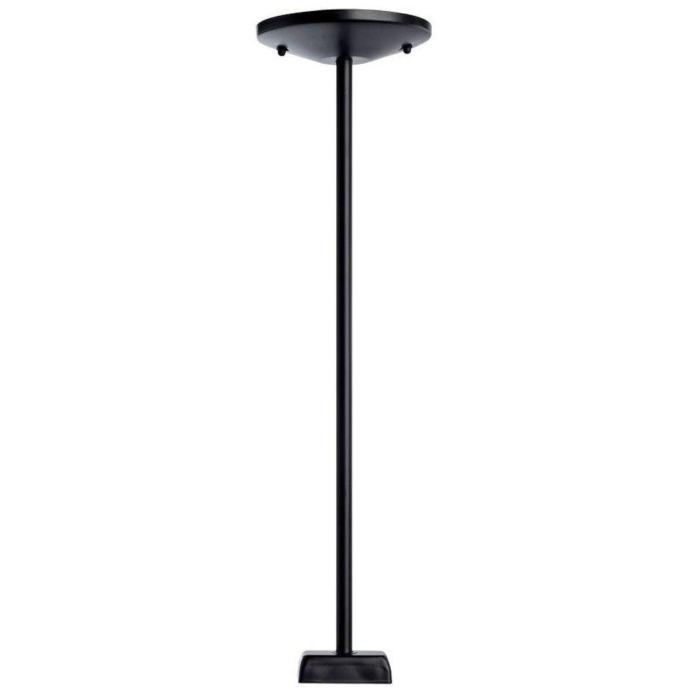Designers Choice Collection 36 in. Black Track Lighting Stem Kit-DISCONTINUED