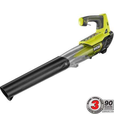 ONE+ 100 MPH 280 CFM 18-Volt Lithium-Ion Cordless Jet Fan Leaf Blower - Battery and Charger Not Included
