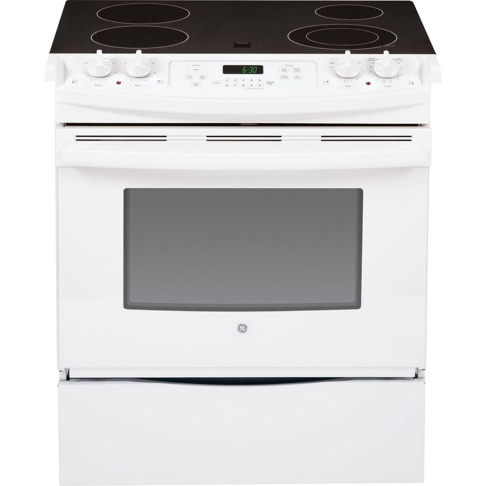 ge 44 cu ft slidein electric range with oven