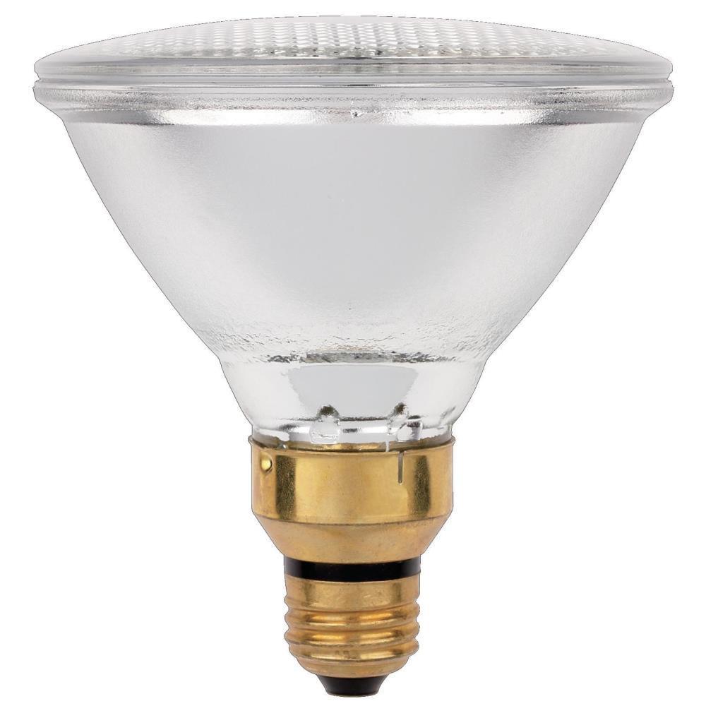 70-Watt Halogen PAR38 Eco-PAR Clear Flood Medium Base Reflector Light Bulb (2-Pack)