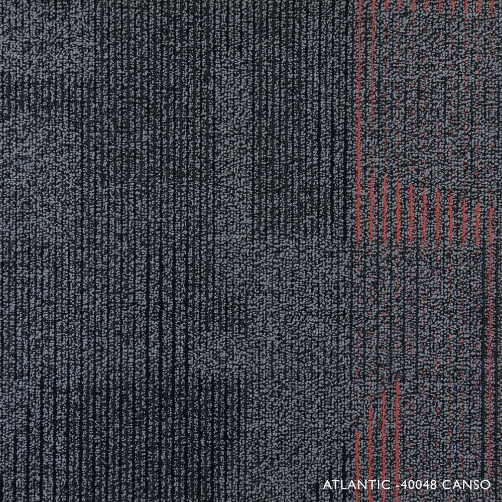 Atlantic Canso Loop 19.68 in. x 19.68 in. Carpet Tile (8 Tiles/Case)