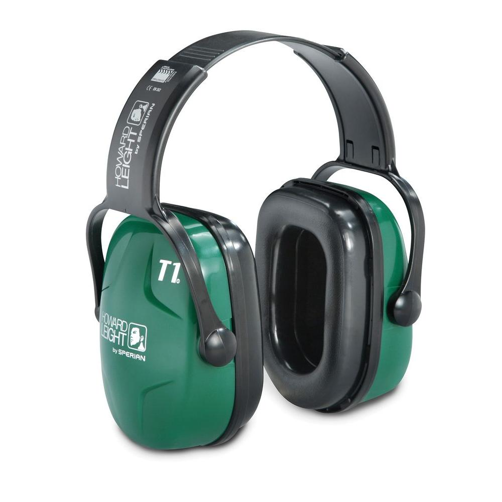 Howard Leight Thunder T1 Noise Blocking Dielectric Headband Earmuffs