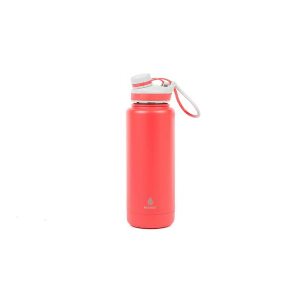 8730578027 Manna Ranger Pro 40 oz. Coral Vacuum Insulated Stainless Steel Bottle