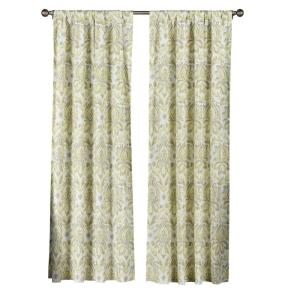 Creative Home Ideas Semi-Opaque Biltmore 100% Cotton Extra Wide 84 inch L Rod Pocket... by Creative Home Ideas