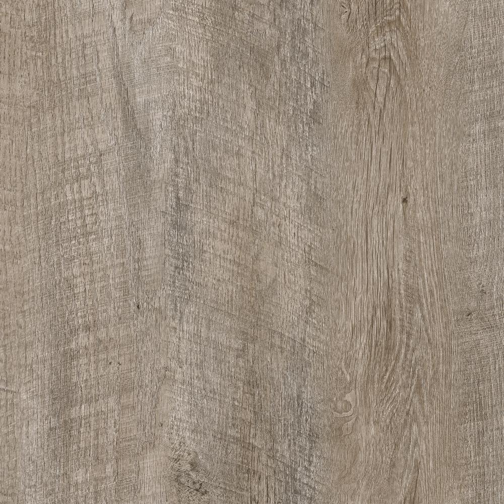 Cottonwood Valley Beige and Grey 7.5 in. x 48 in. Luxury Rigid Vinyl Plank Flooring 17.55 sq. ft. per Carton