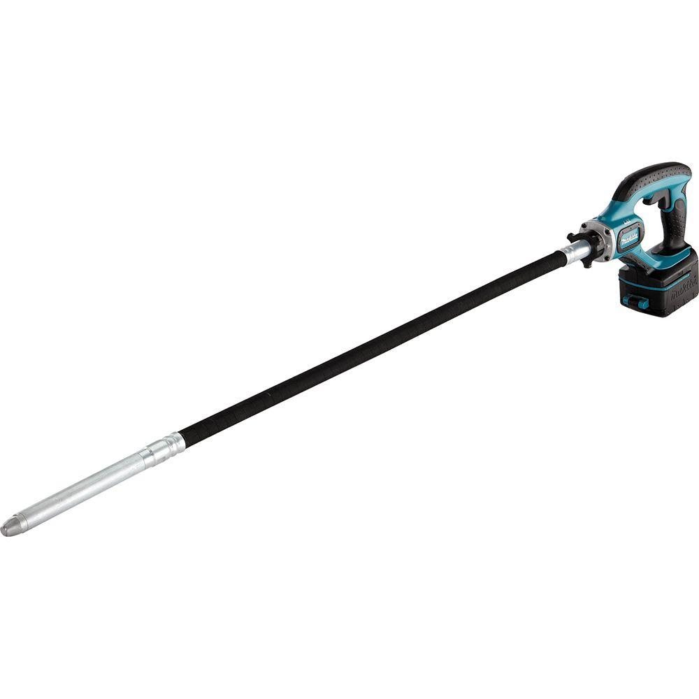 Makita 18-Volt LXT Lithium-Ion 4 ft. Cordless Concrete Vi...