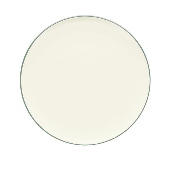 Noritake Colorwave 12 in. Green Coupe Round Platter 8485-537