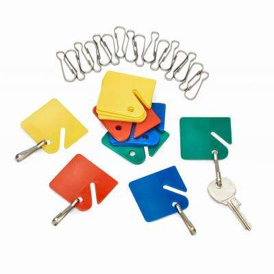 Assorted Multi-Color Key Tags (20-Pack)