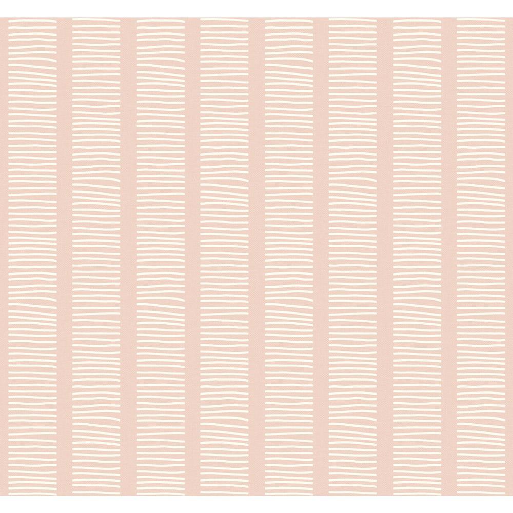 Seabrook Designs Coastline Pink Sunset Coastal Chic Wallpaper MB30411