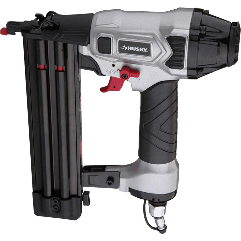 Husky Pneumatic 2 In 18 Gauge Brad Nailer Dpbr50 The