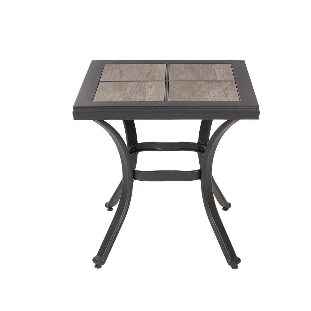 Hampton Bay Crestridge Outdoor Side Table