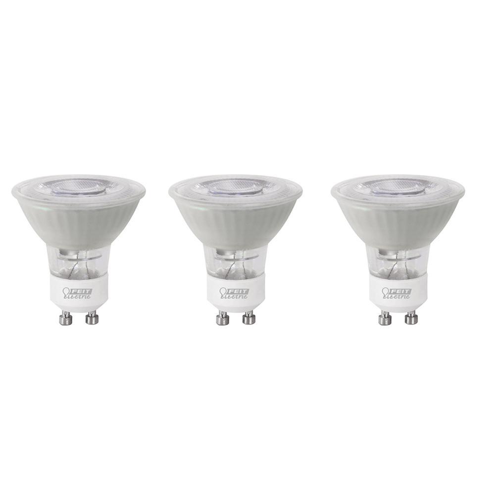 35-Watt Equivalent Bright White (3000K) MR11 GU10 Bi-Pin Base LED Light Bulb (3-Pack)