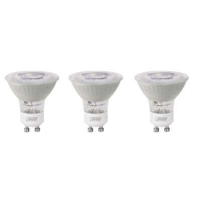 35-Watt Equivalent Bright White (3000K) MR16 GU10 Bi-Pin Base LED Light Bulb (3-Pack)