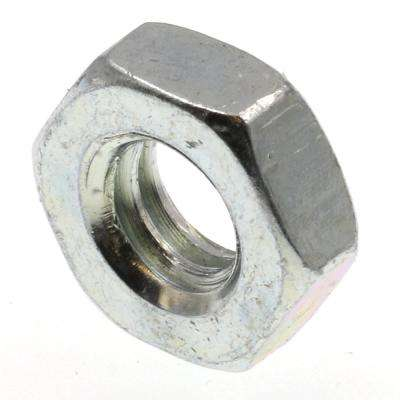 1/4 in.-20 A563 Grade A Zinc Plated Steel Hex Jam Nuts (50-Pack)