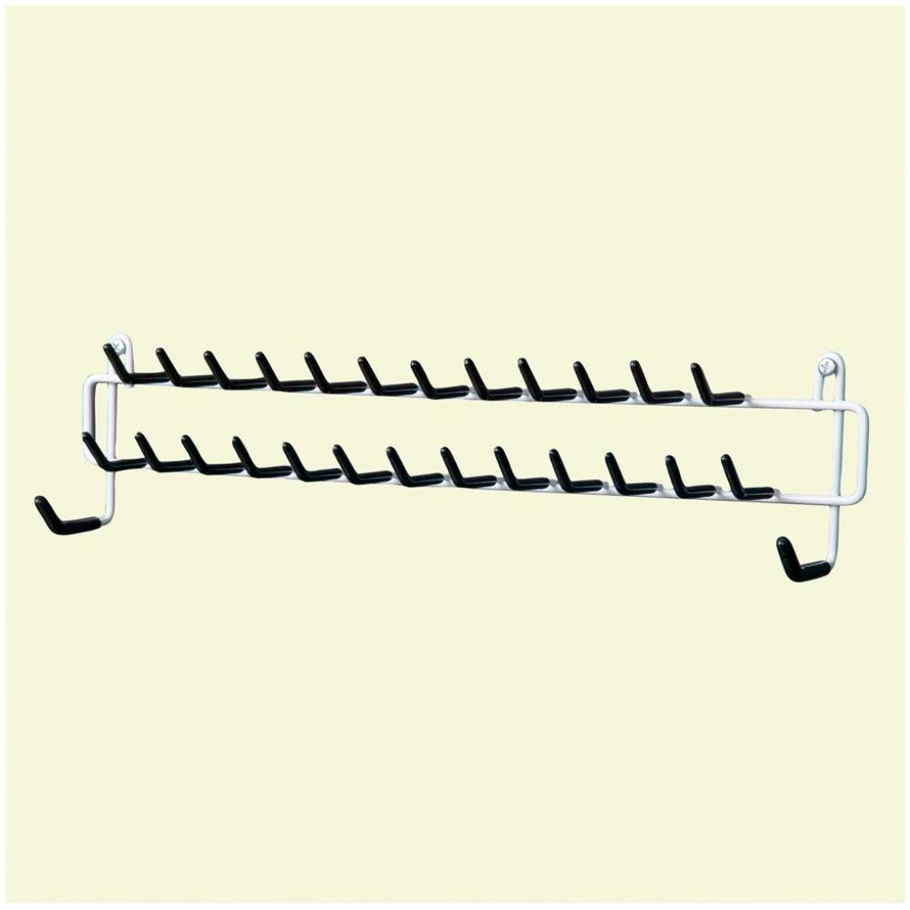 Closetmaid 27 Hook Tie And Belt Rack 8051 The Home Depot