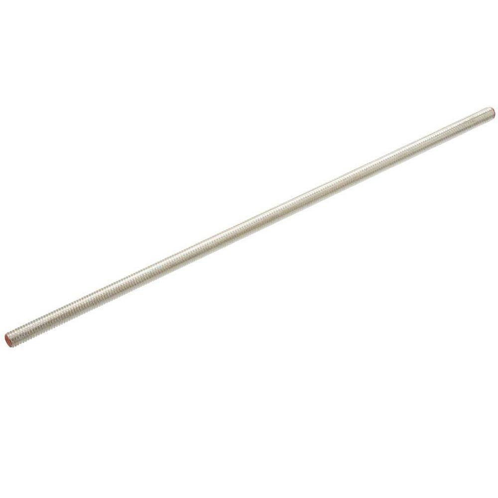 1/2 in. x 36 in. Zinc Threaded Rod