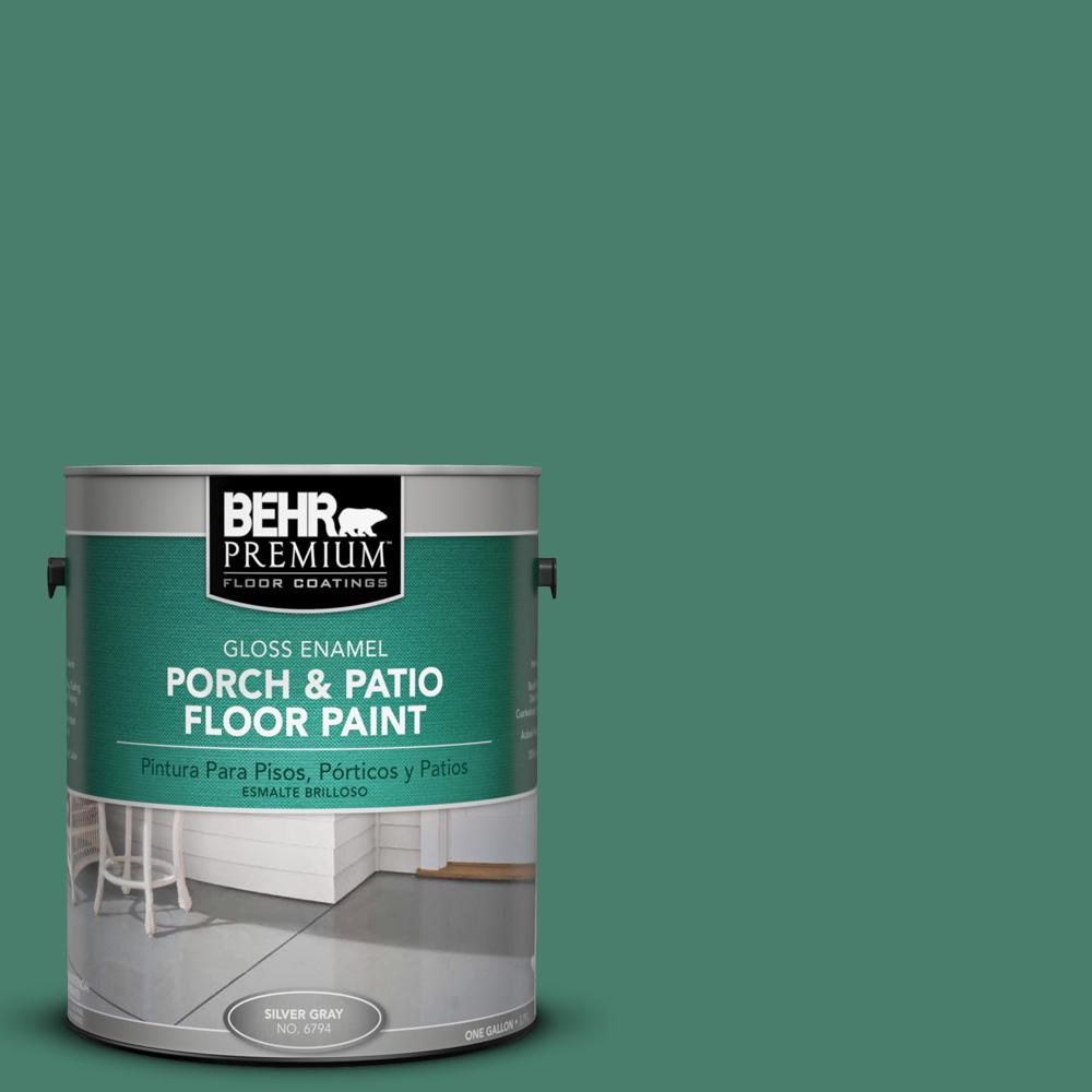 1 gal. #M430-6 Park Bench Gloss Porch and Patio Floor Paint