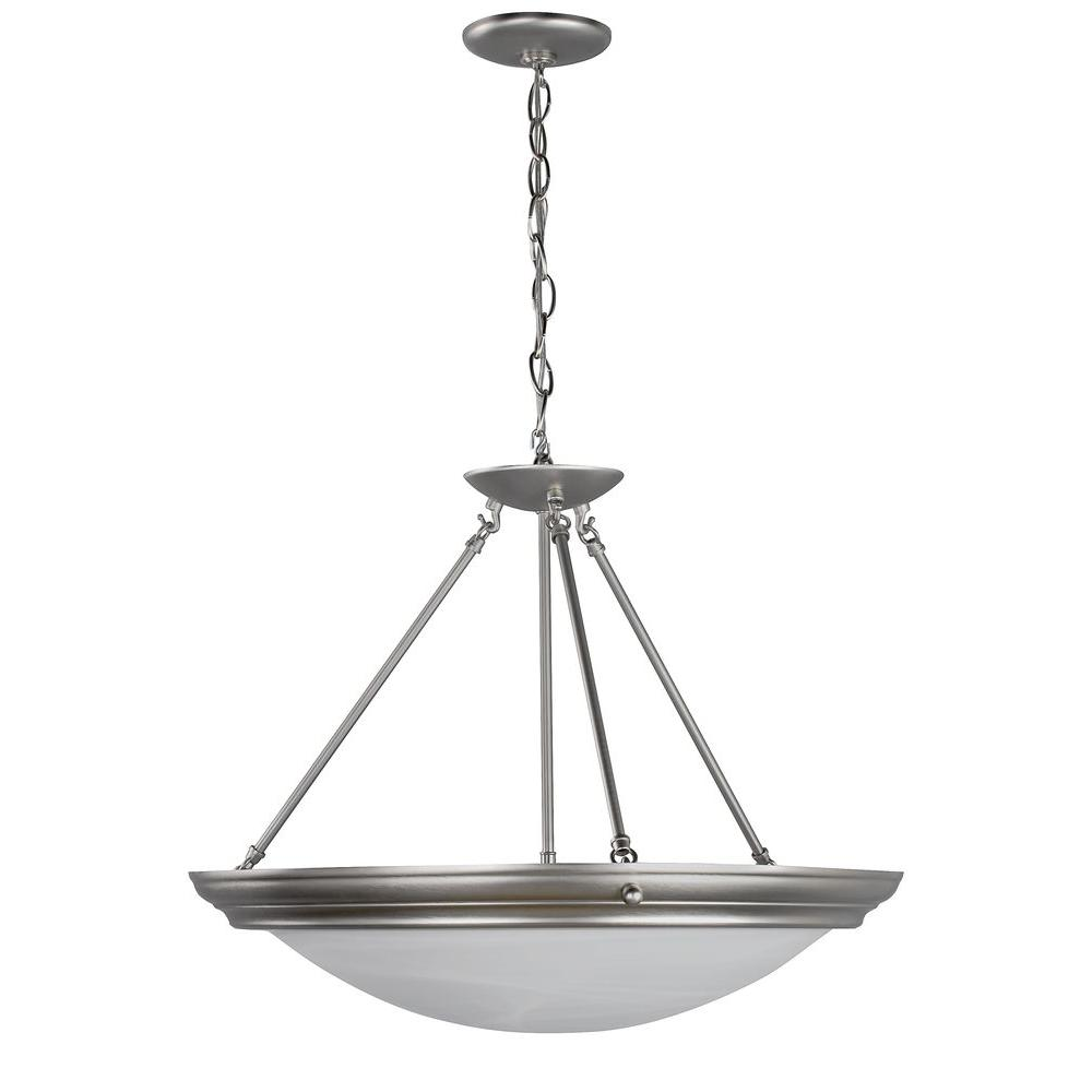 Radionic Hi Tech Orly 4-Light Brushed Nickel Pendant