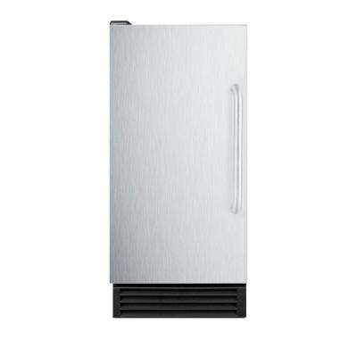 50 lb. Built-In Ice Maker in Stainless Steel