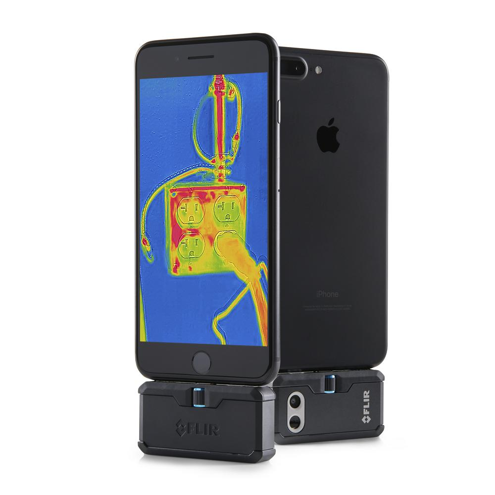 iphone thermal camera flir one pro thermal imaging for iphone ios 12386