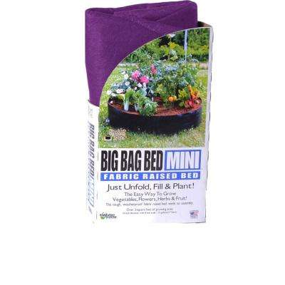 Purple Fabric Mini Raised Garden Bed