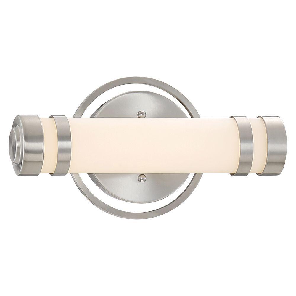 Brushed Nickel LED Bath Vanity Light