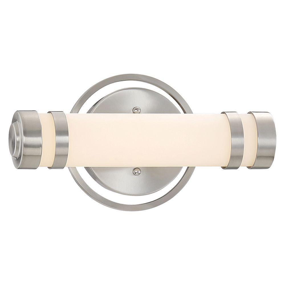 Brushed Nickel LED Bath Vanity Light