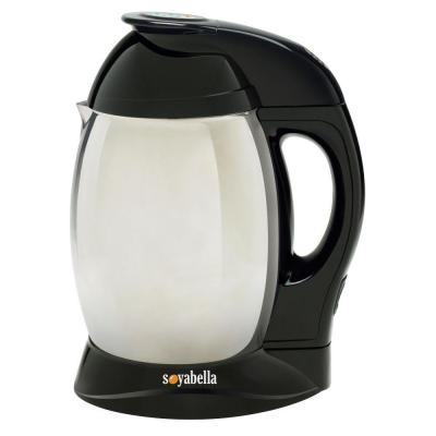Soybella Black Stainless Steel Soy and Nutmilk Maker