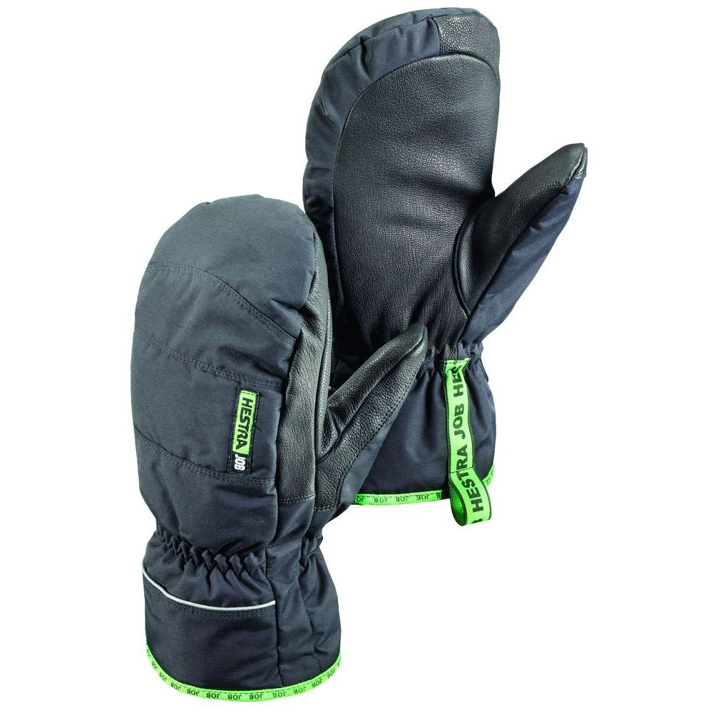 Hestra JOB GTX Base Mitt Size 10 X-Large Cold Weather Insulated Mitt Gore-Tex Membrane in Black