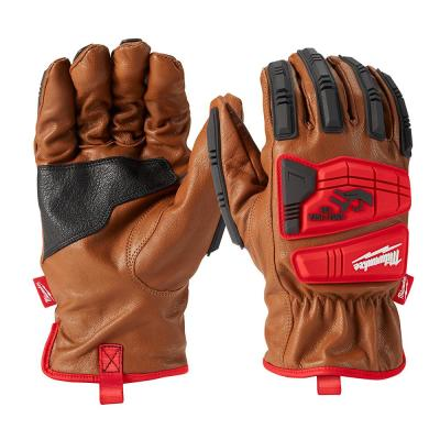 Large Level 3 Cut Resistant Goatskin Leather Impact Gloves
