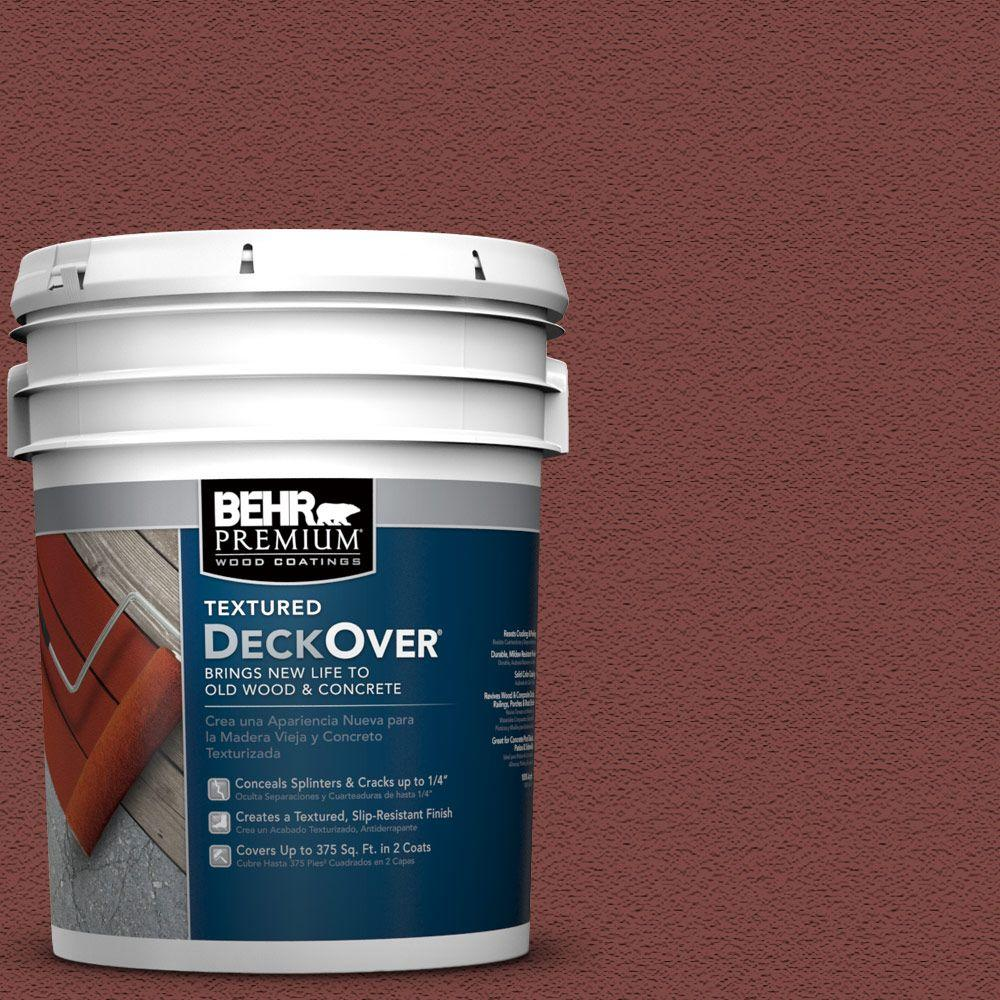 5 gal. #SC-112 Barn Red Wood and Concrete Coating