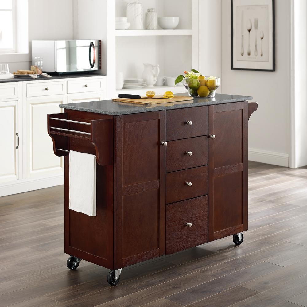 Wright Espresso Kitchen Cart