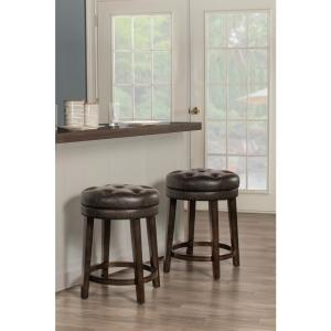 Admirable Hillsdale Furniture Krauss 25 5 In Backless Swivel Counter Machost Co Dining Chair Design Ideas Machostcouk
