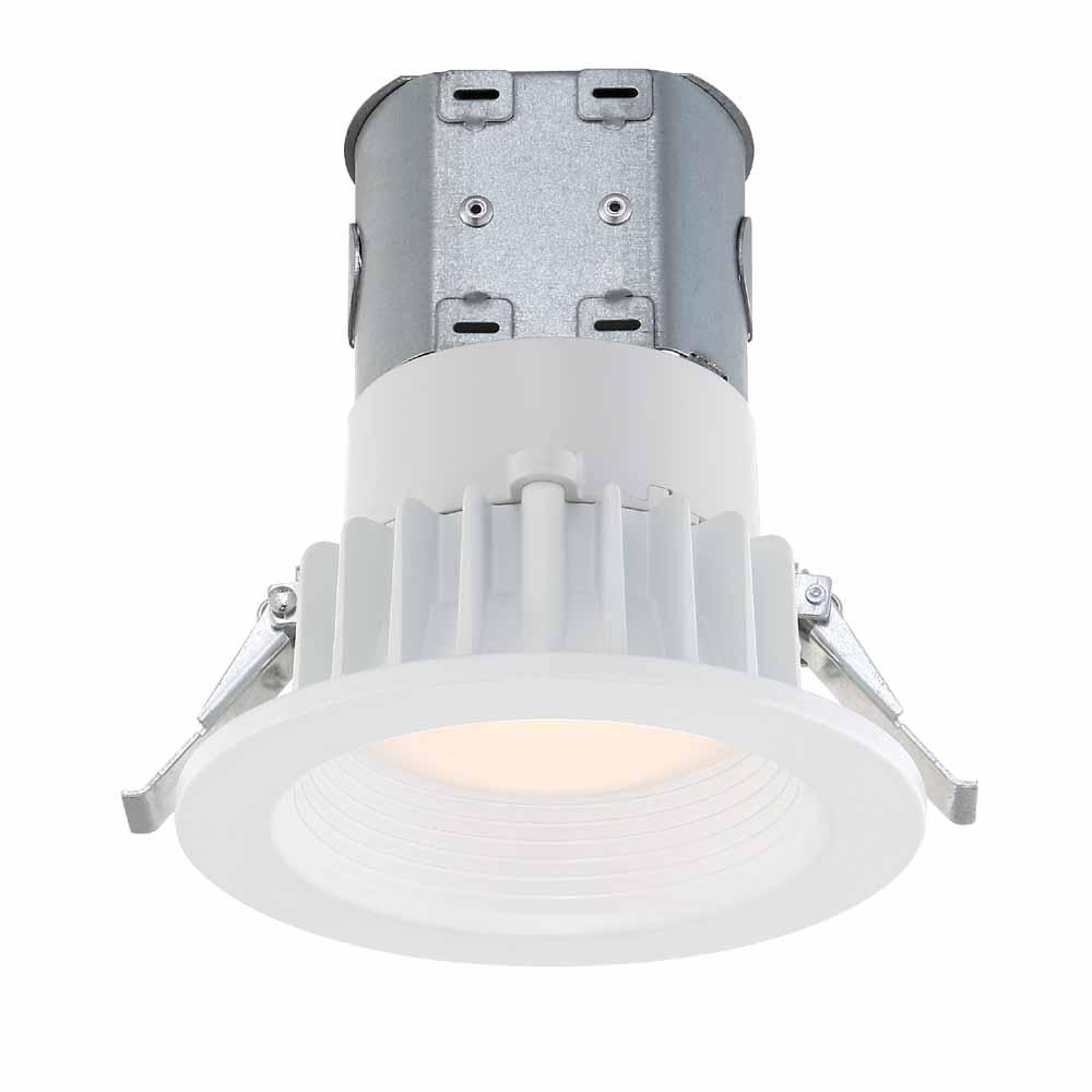 Commercial Electric 6 In. Warm White Recessed LED Can Disk