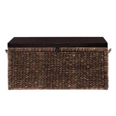 Water Hyacinth Espresso Trunk