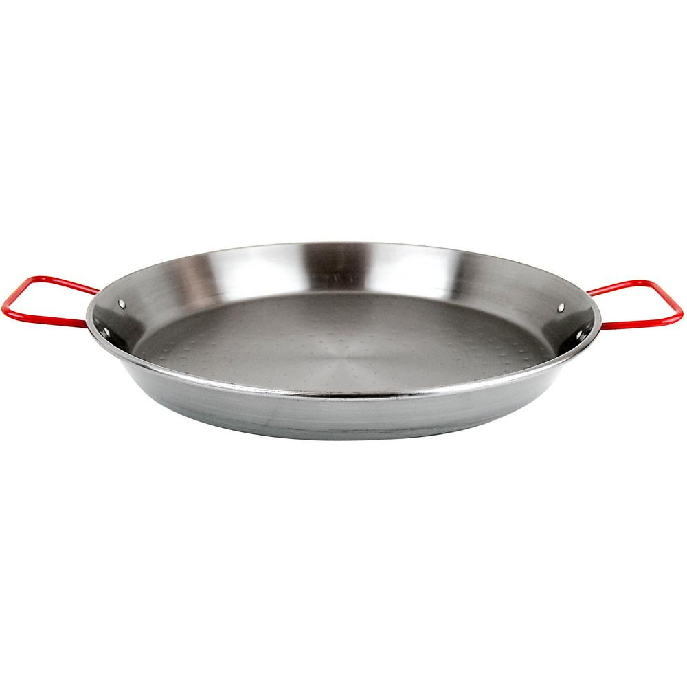 Magefesa Pizza And Paella 12 In Carbon On Steel Pan 01papaepu30 Bath The Traditional Spanish Paella Pan Is Excellent Fo