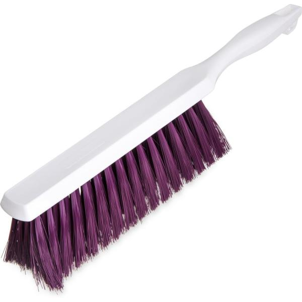 8 in. Polyester Purple Bench and Counter Brush (12-Pack)