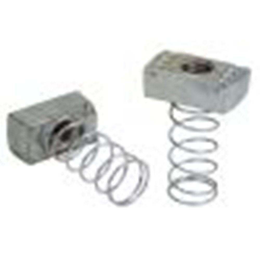 1/2 in. Channel Spring Nuts (5-Pack)