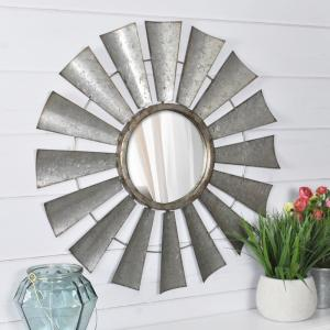 FirsTime Zephyr Windmill Wall Mirror by FirsTime