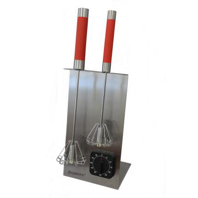 2-Piece Red Whisk Set with Free Timer